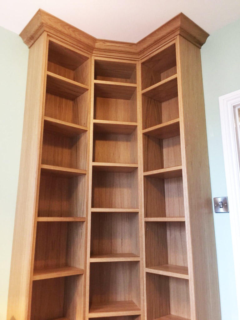 full height shelving unit