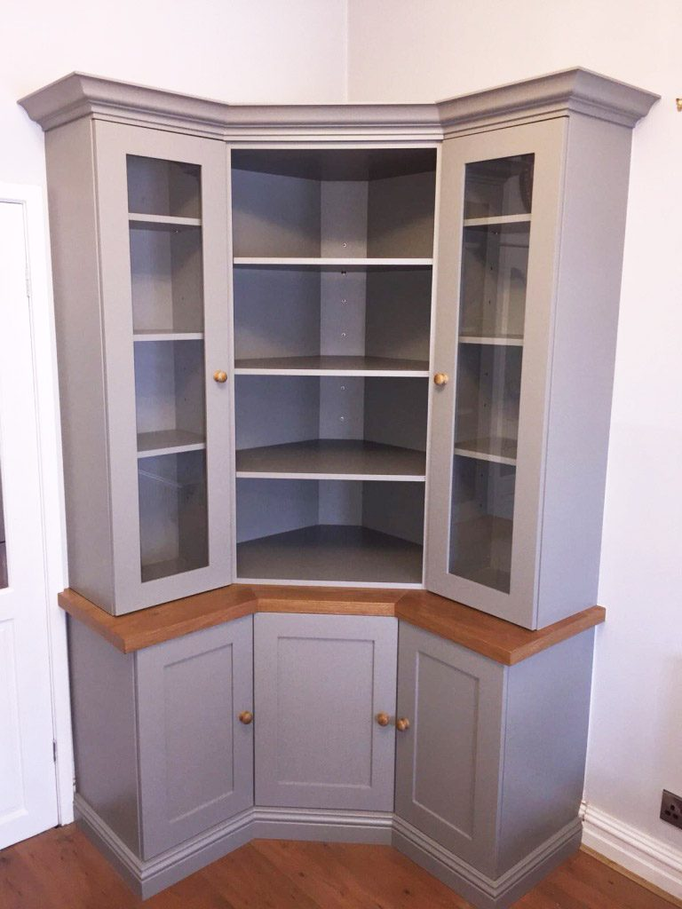 grey fitted cabinet