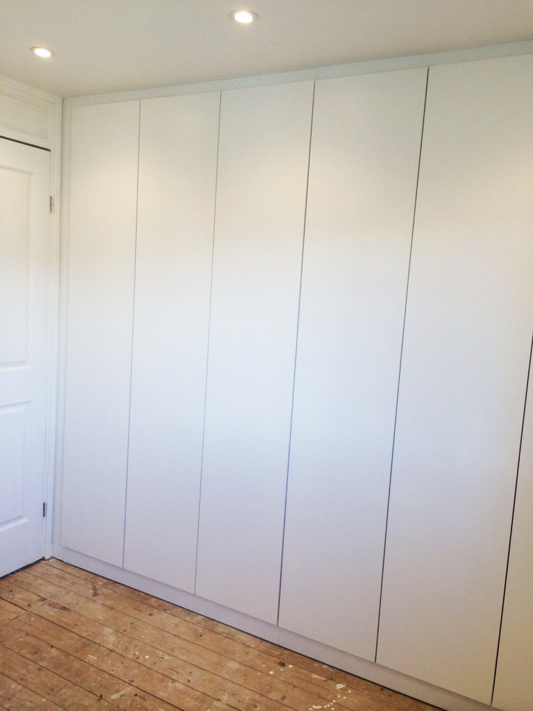 contemporary fitted storage