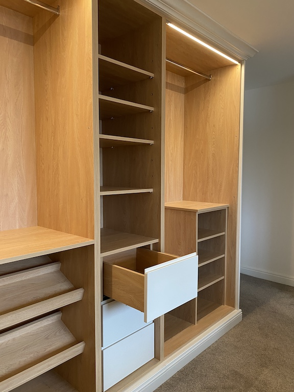 Customised Bedroom Storage